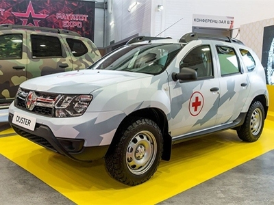 Renault Duster для армии РФ